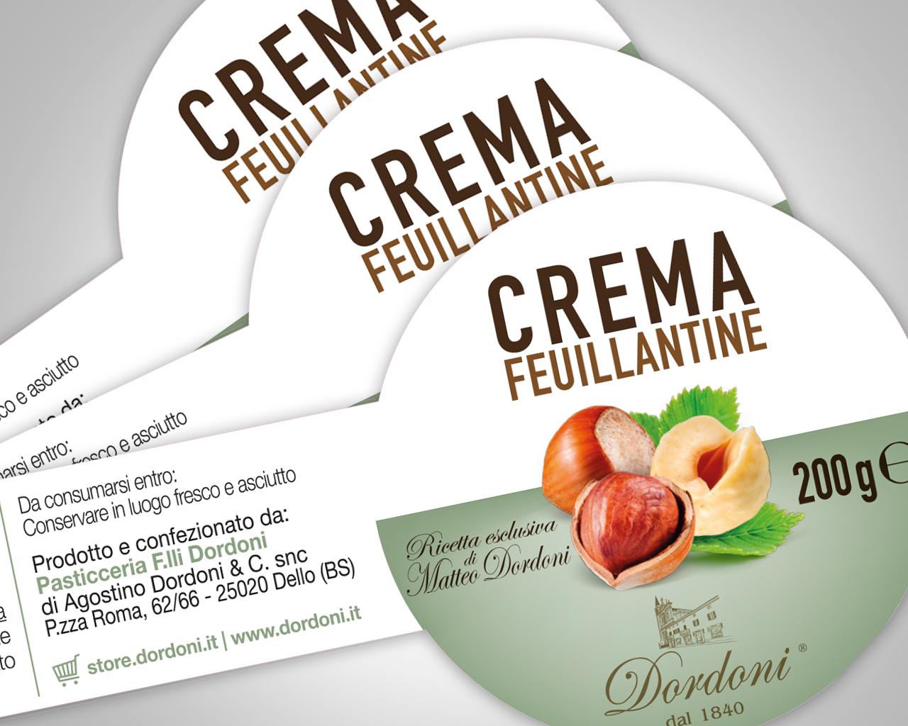 Progettazione grafica etichetta alimentare